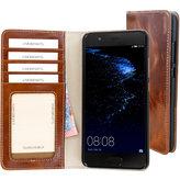 Mobiparts Excellent Wallet Case Huawei P10 Oaked Cognac
