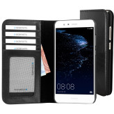 Mobiparts Excellent Wallet Case Huawei P10 Lite Jade Black