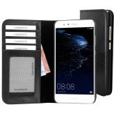 Mobiparts Excellent Wallet Case Huawei P10 Lite Jade Black