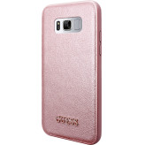 Guess Iridescent Backcover Case Samsung Galaxy S8 Rose Gold