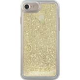 Guess Glitter Liquid Hard Case Apple iPhone 6/6S/7/8 Gold