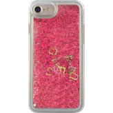 Guess Glitter Hard Case Apple iPhone 6/6S/7/8 Raspberry