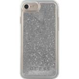 Guess Glitter Liquid Hard Case Apple iPhone 6/6S/7/8 Silver