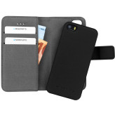 Mobiparts 2 in 1 Premium Wallet Case Apple iPhone 5/5S/SE Black