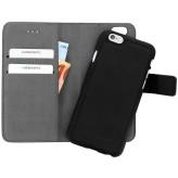 Mobiparts 2 in 1 Premium Wallet Case Apple iPhone 6/6S Black