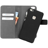 Mobiparts 2 in 1 Premium Wallet Case Huawei P10 Lite Black