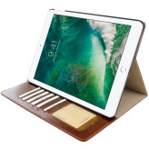 Mobiparts Excellent Tablet Case Apple iPad 9.7 (2017)/Apple iPad 9.7 (2018) Oaked Cognac