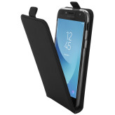 Mobiparts Premium Flip TPU Case Samsung Galaxy J5 (2017) Black