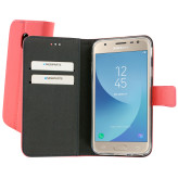 Mobiparts Premium Wallet TPU Case Samsung Galaxy J3 (2017) Peach Pink