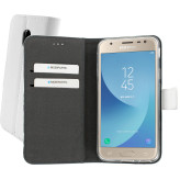 Mobiparts Premium Wallet TPU Case Samsung Galaxy J3 (2017) White