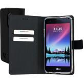 Mobiparts Premium Wallet TPU Case LG K4 (2017) Black