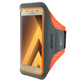 Mobiparts Comfort Fit Sport Armband Samsung Galaxy A3 (2017) Neon Orange