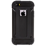 Mobiparts Rugged Shield Case Apple iPhone 5/5S/SE Black