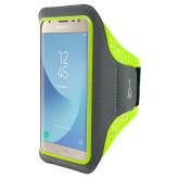 Mobiparts Comfort Fit Sport Armband Samsung Galaxy J3 (2017) Neon Green