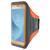 Mobiparts Comfort Fit Sport Armband Samsung Galaxy J3 (2017) Neon Orange