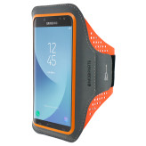 Mobiparts Comfort Fit Sport Armband Samsung Galaxy J5 (2017) Neon Orange