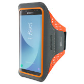 Mobiparts Comfort Fit Sport Armband Samsung Galaxy J7 (2017) Neon Orange