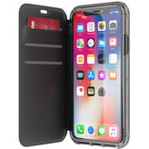 Griffin Survivor Clear Wallet Apple iPhone X Black/Clear