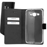 Mobiparts Premium Wallet TPU Case Huawei Y3 (2017) Black