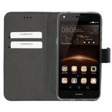 Mobiparts Premium Wallet TPU Case Huawei Y5 / Y6 (2017) Black