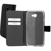 Mobiparts Premium Wallet TPU Case General Mobile GM 6 Black