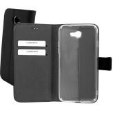Mobiparts Premium Wallet TPU Case General Mobile GM 6 Black
