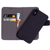 Mobiparts 2 in 1 Premium Wallet Case Apple iPhone X Black