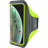 Mobiparts Comfort Fit Sport Armband Apple iPhone X Neon Green