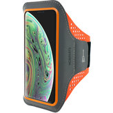 Mobiparts Comfort Fit Sport Armband Apple iPhone X Neon Orange