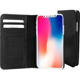 Mobiparts Excellent Wallet Case Apple iPhone X Jade Black