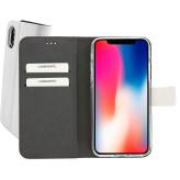 Mobiparts Premium Wallet TPU Case Apple iPhone X/XS White