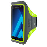 Mobiparts Comfort Fit Sport Armband Samsung Galaxy A5 (2017) Neon Green