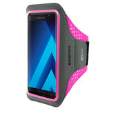 Mobiparts Comfort Fit Sport Armband Samsung Galaxy A5 (2017) Neon Pink