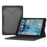 ZAGG Rugged Messenger Folio AZERTY Keyboard Apple iPad 9.7