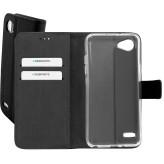 Mobiparts Premium Wallet TPU Case LG Q6 Black