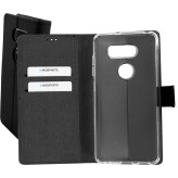 Mobiparts Premium Wallet TPU Case LG V30 Black