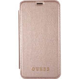 Guess Iridescent Book Case Apple iPhone X Rose Gold