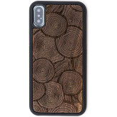 Reveal Floresta Wood Engraved Case Apple iPhone X