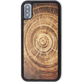 Reveal Tree Ring Wood Case Apple iPhone X