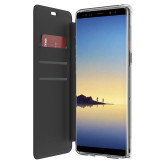 Griffin Survivor Clear Wallet Samsung Galaxy Note 8 Black/Clear
