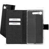 Mobiparts Premium Wallet TPU Case Sony Xperia XZ1 Black