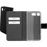 Mobiparts Premium Wallet TPU Case Sony Xperia XZ1 Compact Black