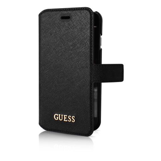Guess Saffiano Book Case Apple iPhone 6/6S Black GUFLBKP6TBK