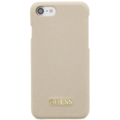 Guess Saffiano Backcover Case Apple iPhone 6/6S/7/8 Beige GUHCP7TBE