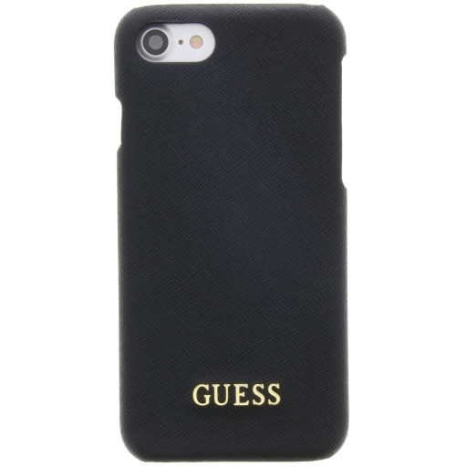 Guess Saffiano Backcover Case Apple iPhone 6/6S/7/8 Black GUHCP7TBK