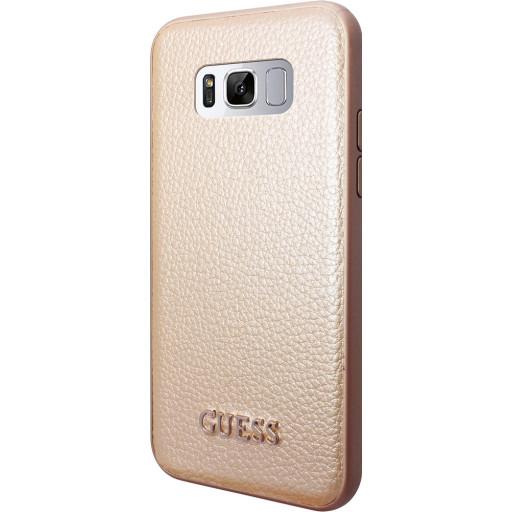Guess Iridescent Backcover Case Samsung Galaxy S8 Gold GUHCS8IGLGO