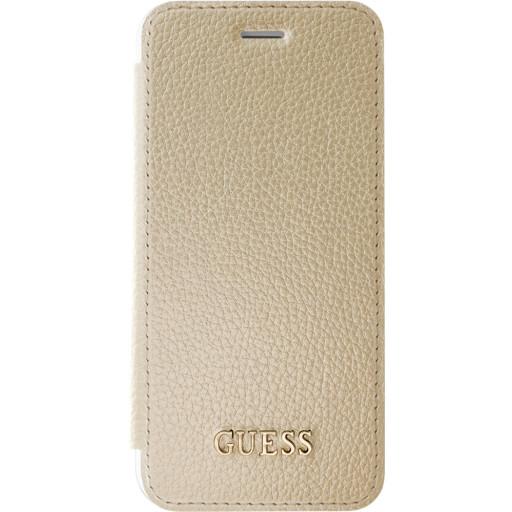Guess Iridescent Book Case Apple iPhone 6/6S/7/8 Gold GUFLBKP7IGLTGO