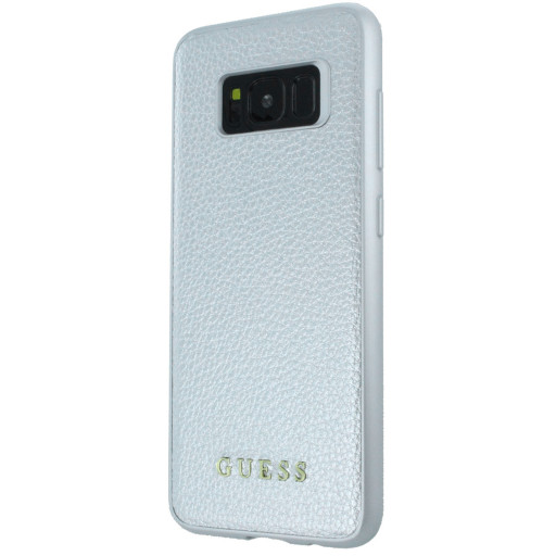 Guess Iridescent Backcover Case Samsung Galaxy S8 Silver GUHCS8IGLSI