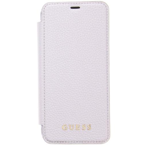 Guess Iridescent Book Case Samsung Galaxy S8 Silver GUFLBKS8IGLTSI
