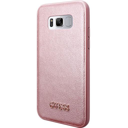 Guess Iridescent Backcover Case Samsung Galaxy S8 Rose Gold GUHCS8IGLRG